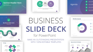 Professional Business Slide Deck PowerPoint Template