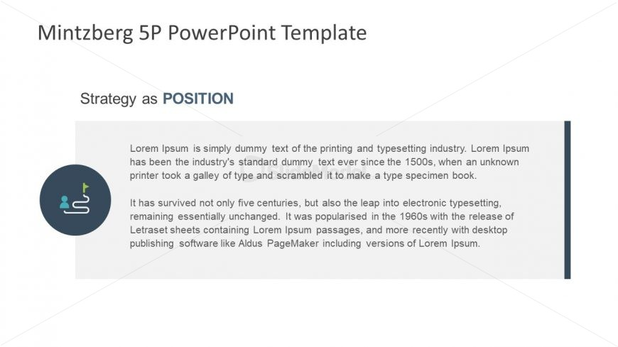 Position Strategy Model Template