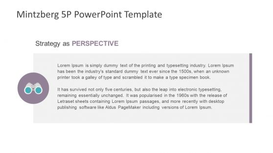 Perspective Template Mintzberg 5Ps
