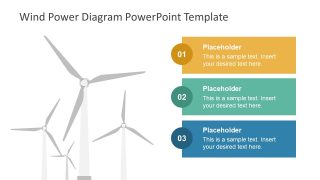 Wind Power Diagram PowerPoint Template