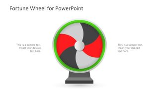 Fortune Wheel PowerPoint Template