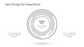 Circular Design PowerPoint Concept