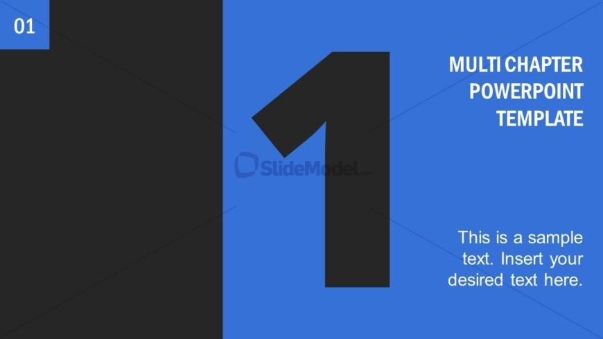 Number 1 Presentation Divider Template