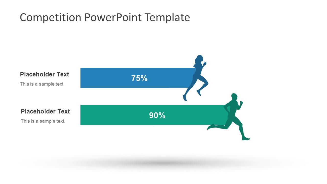 Competition powerpoint template slidemodel competition powerpoint template racing bar data charts toneelgroepblik Gallery