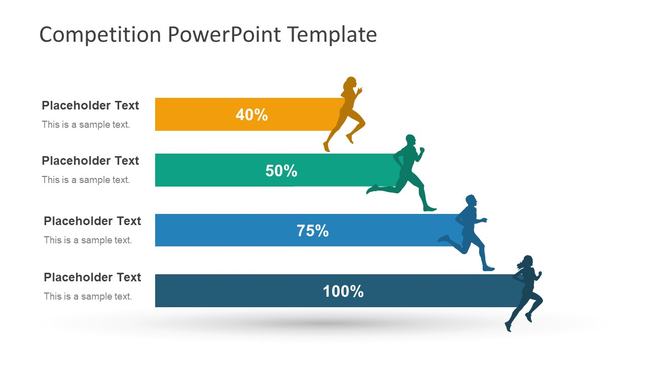 Racing competition business powerpoint templates and.