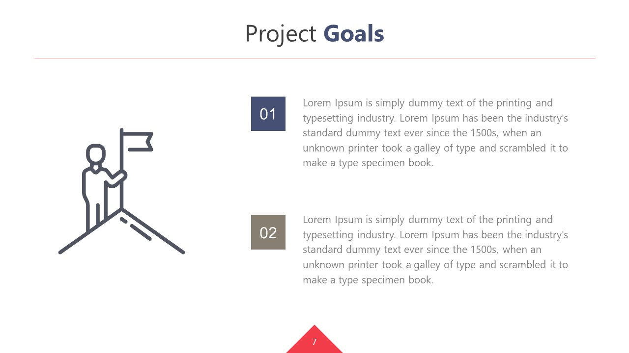 Project Goals Presentation Template