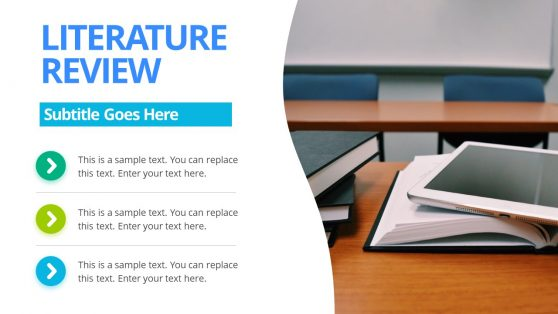 Animated PowerPoint Literature Review