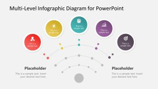 Multi-Level Infographic Diagram for PowerPoint