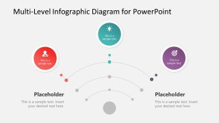 3 Segments of Infographic Diagram