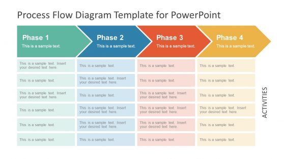 process flow powerpoint templates PowerPoint Process Flow Templates chevron process flow diagram for powerpoint