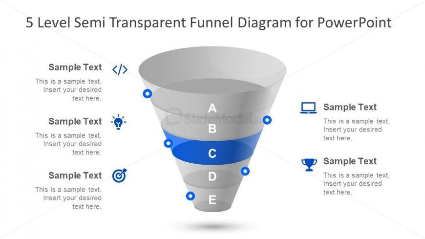 Semi Transparent PowerPoint 5 Level