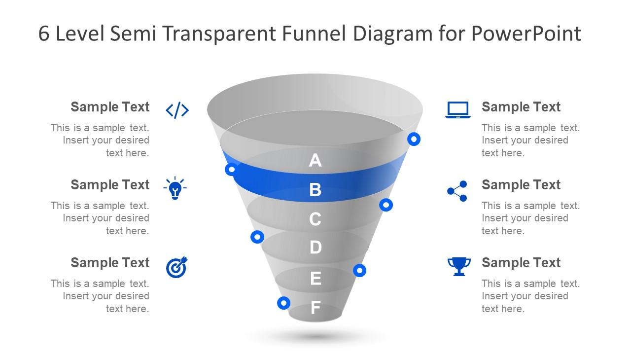 Semi Transparent Funnel Slide