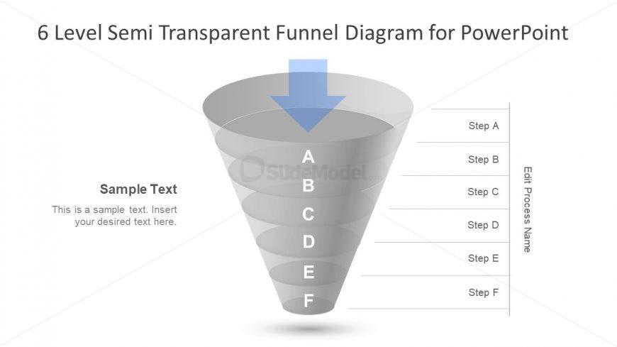 Transparent Design of 6 Level Diagram