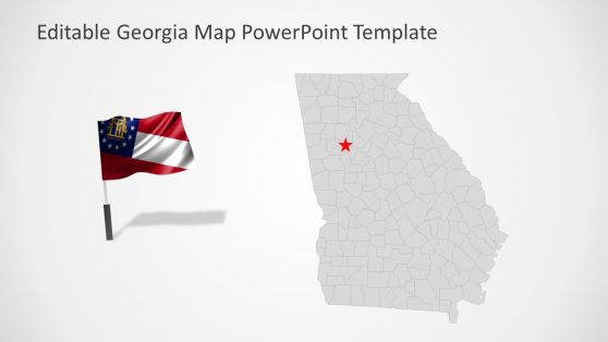 Presentation of Editable Counties Georgia