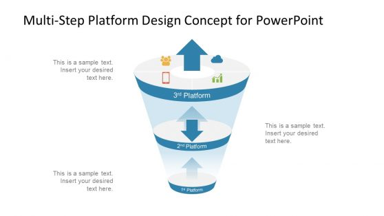 Funnel Diagram PPT 3rd Platform Digital