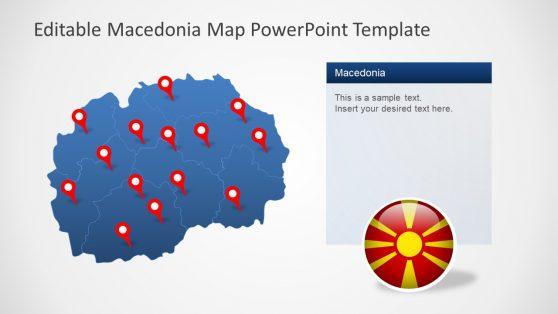 Macedonia Map Geographic Navigation