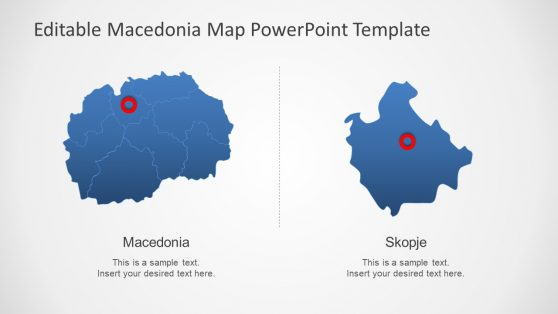 Presentation of Macedonia Map
