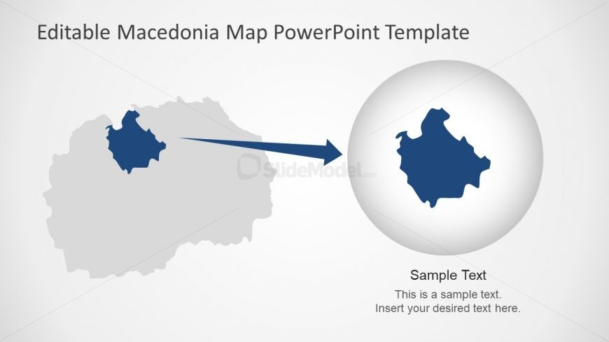 Editable Zoom Slide of Map