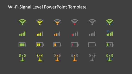PPT Useful Icons for Network Signals