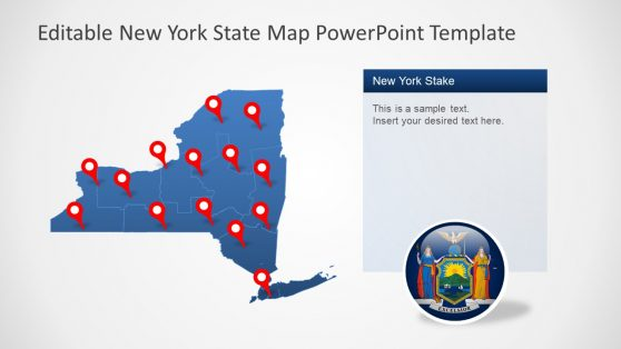 PowerPoint Map Template Design