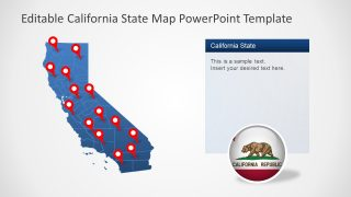 PowerPoint Map in Editable Slides