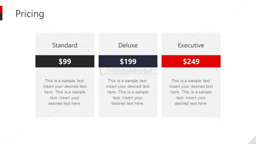 PowerPoint Side of Pricing