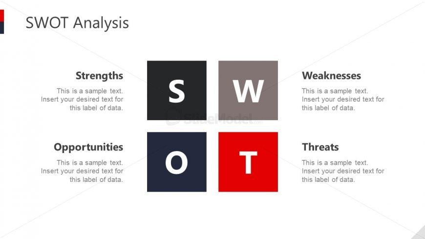 Slide of SWOT Analysis for Hotels