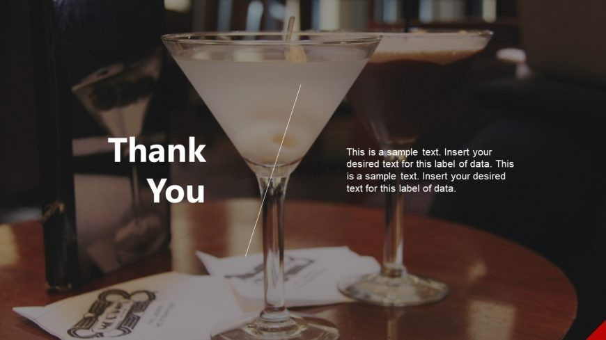 Thank You Slide of Hotel Business