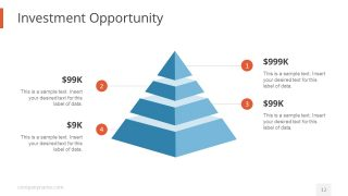 Pyramid Diagram Design for Investors