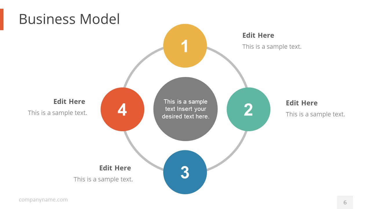 Pegasus pitch deck powerpoint template slidemodel circular powerpoint diagram for business model wajeb Gallery
