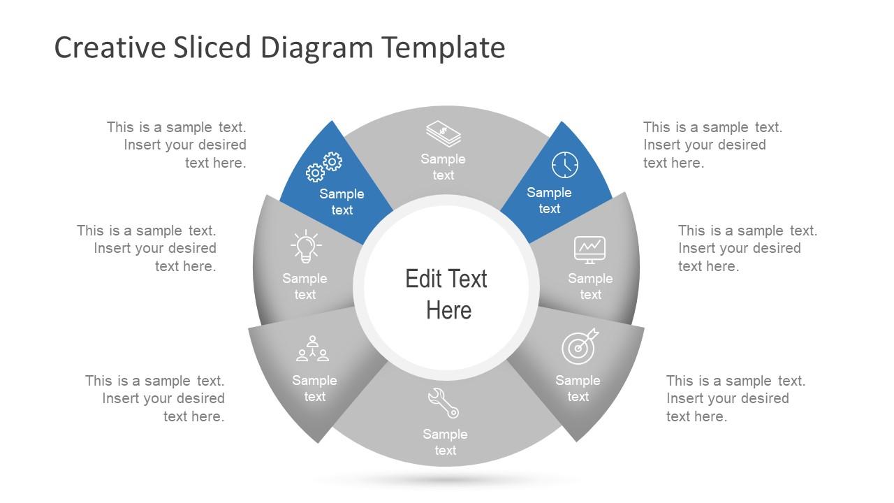 Diagram with 8 Steps Presentation