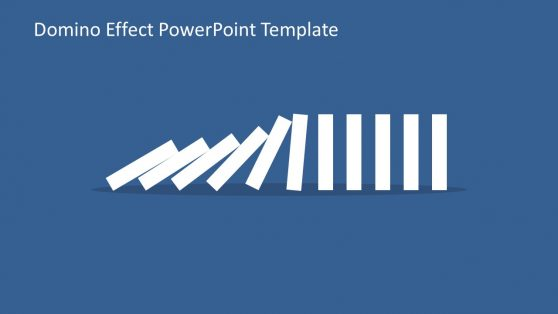 Domino Effect Layout of Tiles Slide