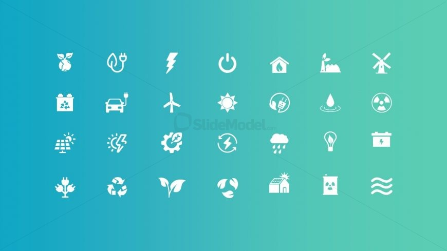 Presentation of Useful Icons in Slide