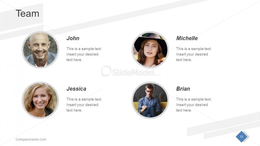 Business Team of Project Template