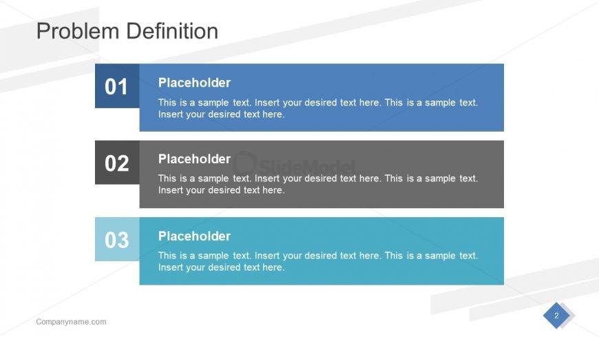 Presentation Slide Deck Professional Layout