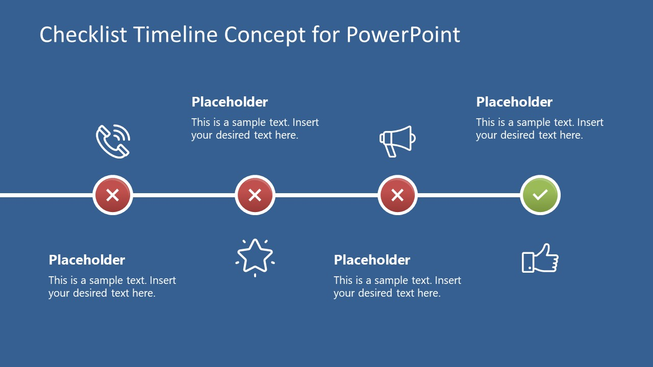 Infographic Timeline Concept PPT
