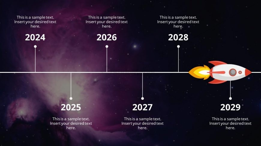 Animated Timeline Presentation Galaxy