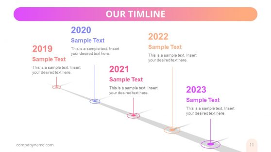 Nemesis Business Timeline Template