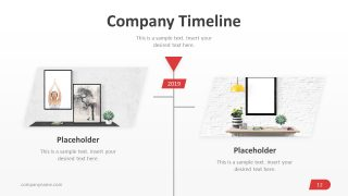 Vertical PowerPoint Timeline Graphics
