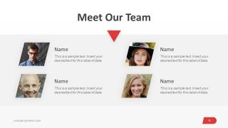 PowerPoint Business Template for Team