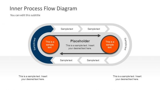 Process Flow Business Diagram Template