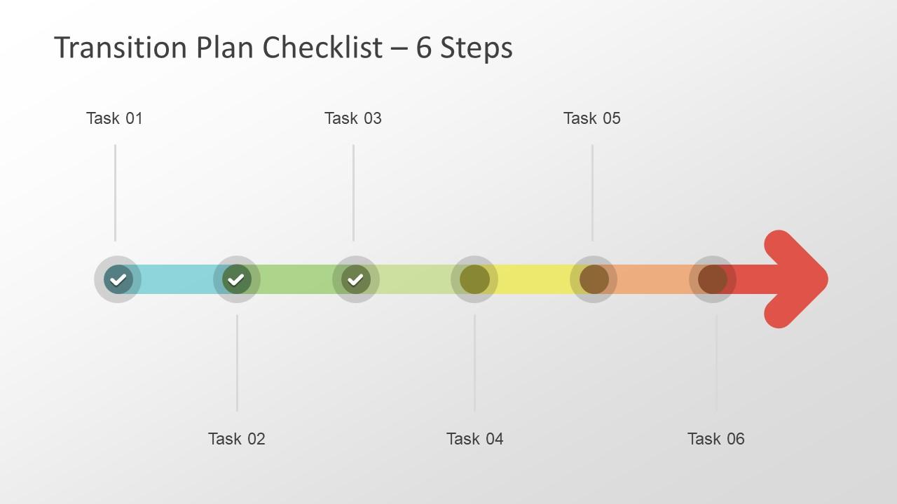 Transition Plan Slide Template