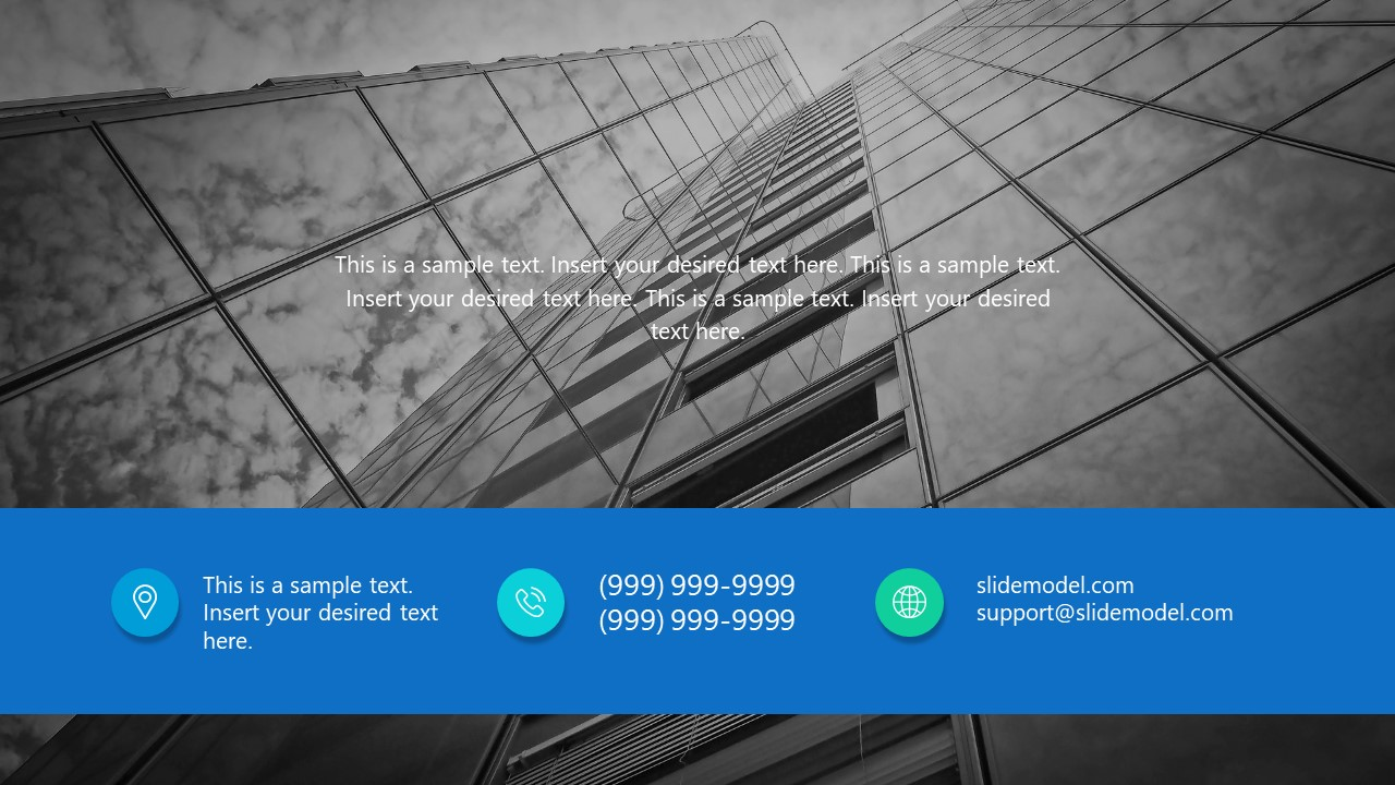 Professional Template for Contact Information