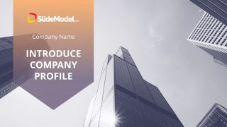 Company Introduction Template Slide