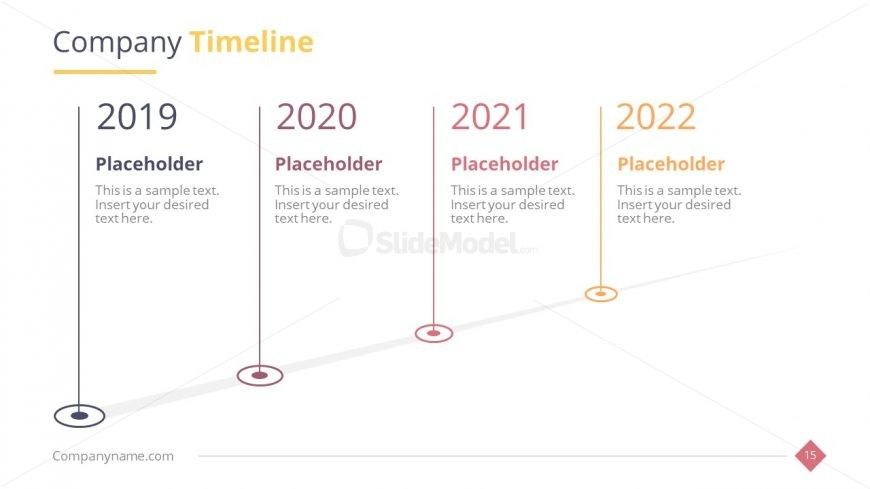 Infographic Timeline Roadmap Business Template