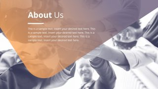 About Us Presentation Design