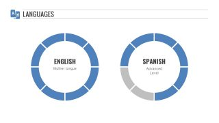 English and Spanish Language Segments