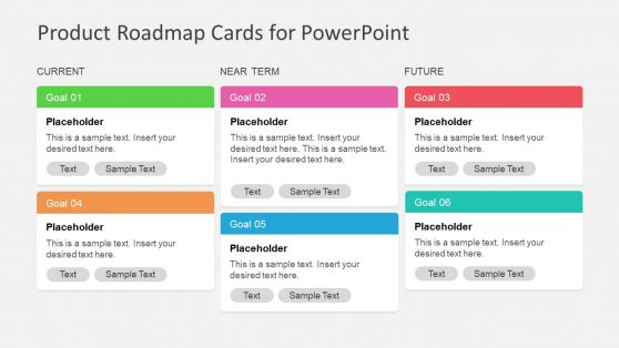PowerPoint Cards for Product Roadmap