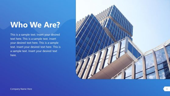 About Us Company Introduction PPT