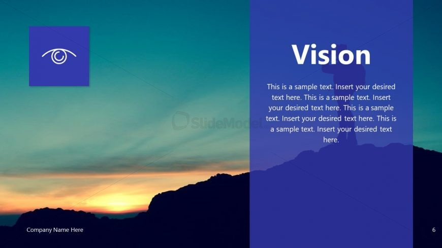 Vision PPT Company Presentation